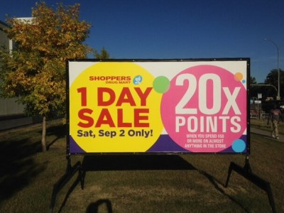 Spruce Grove Portable Signs