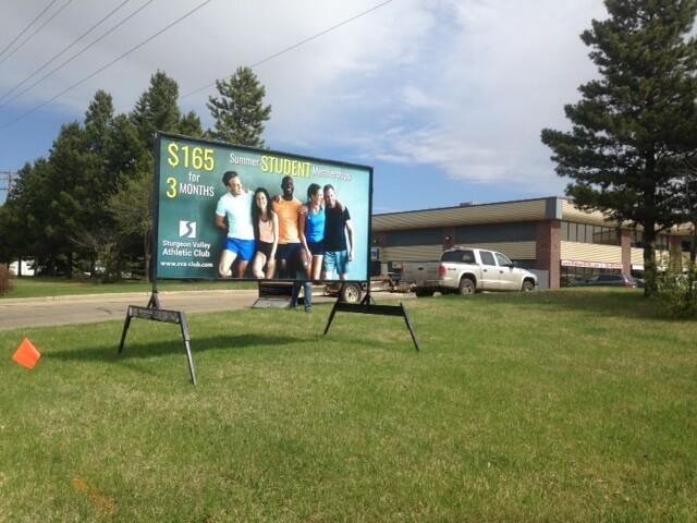 Mini Billboards Calgary