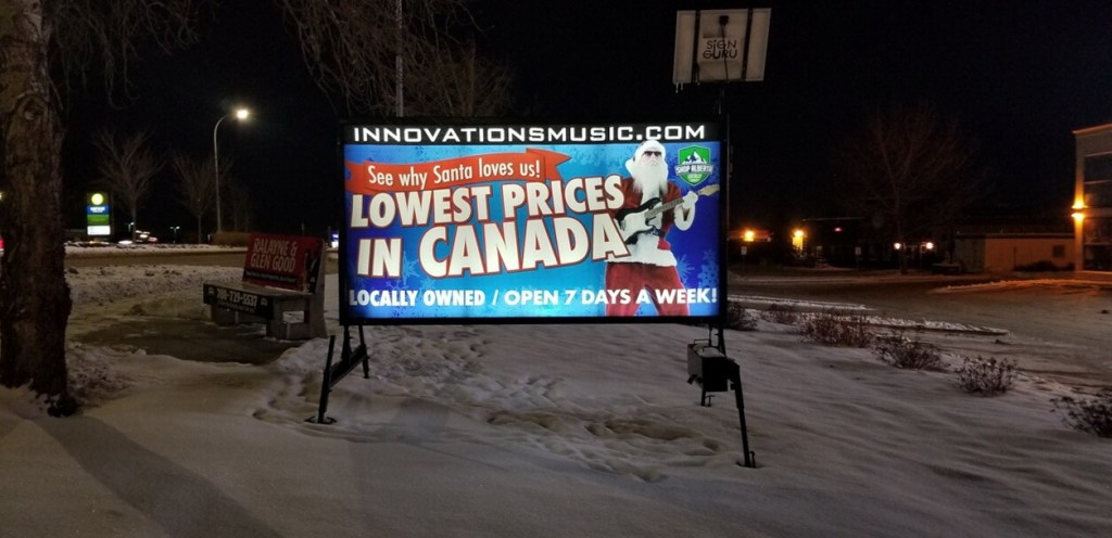 Mobile Sign Rentals St. John's