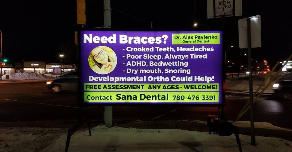 Advertising Street Signs Edmonton