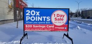 Advertising Street Signs