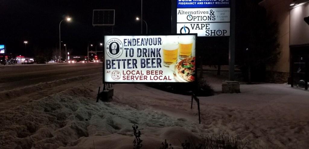 Alberta Mobile Signs