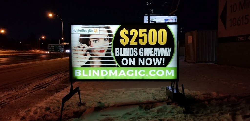Lighted Portable Signs North Battleford