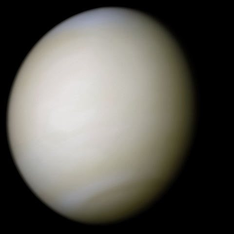 El color amarillo es propio del planeta Venus