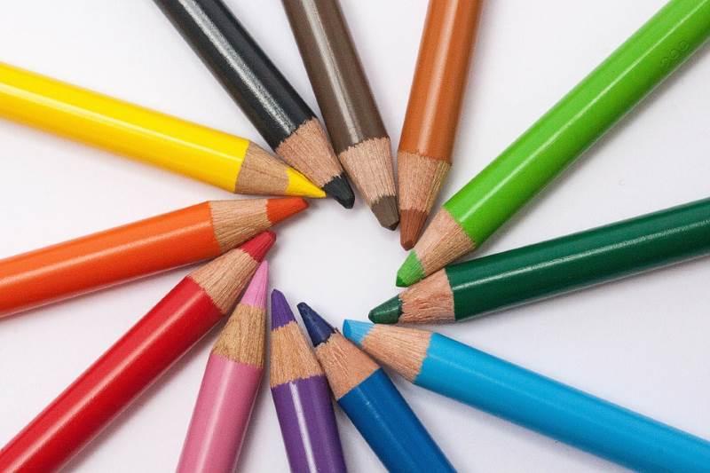 Colores básicos en inglés