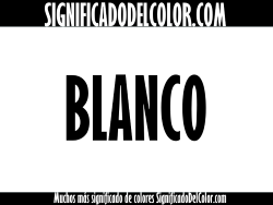 significado del color blanco
