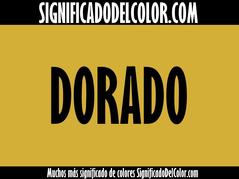 Significado del Color Dorado ▷【SUEÑOS, ROPA, DECORACIÓN】