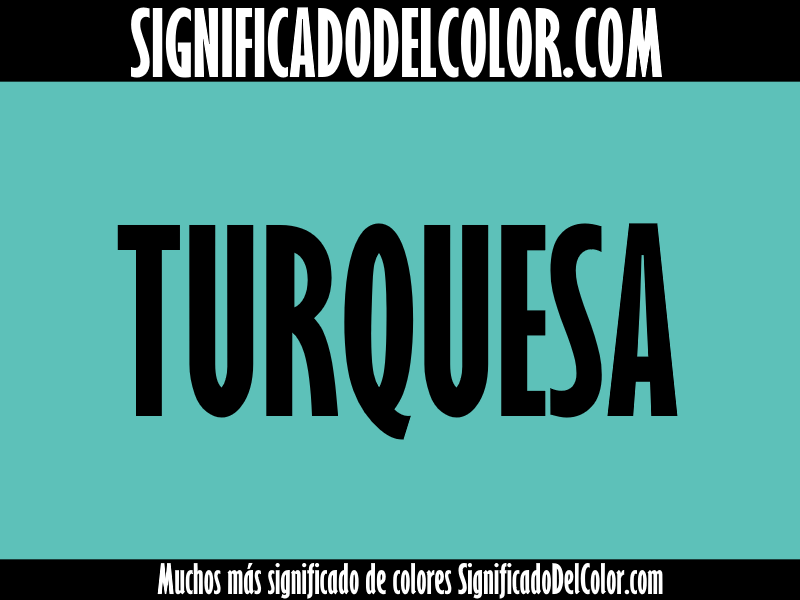 Significado del color Turquesa ▷【SUEÑOS, ROPA, DECORACIÓN】