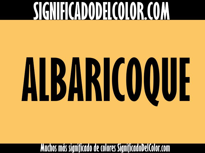 Cual es el color albaricoque ▷【Como es el color albaricoque + Ejemplo】