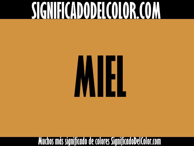 Cual es el color Miel ▷【Como es el color miel + Ejemplo】