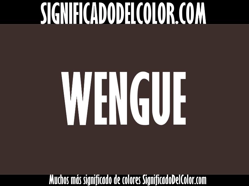 Cual es el color wengue ▷【Como es el color wengue + Ejemplo】