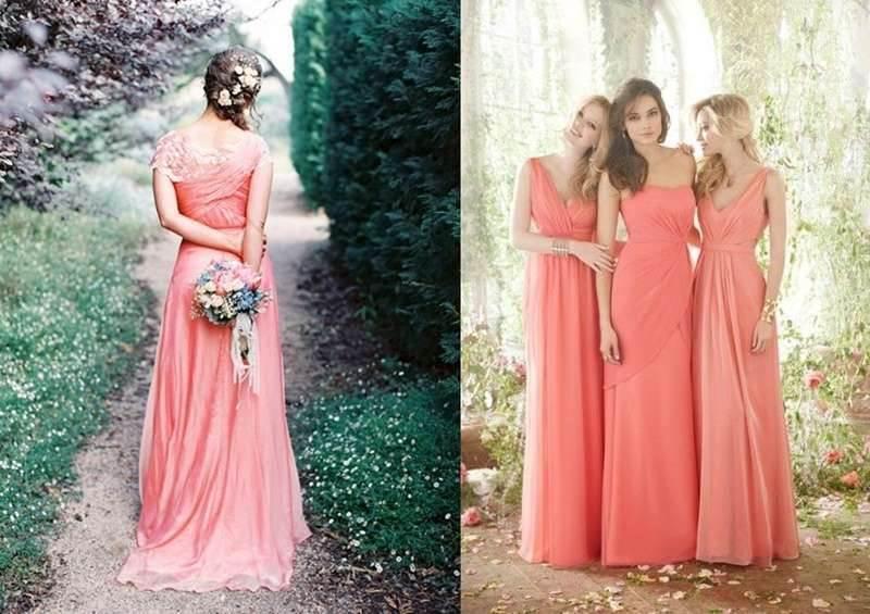 el color salmon es uno de los más utilizados en la moda