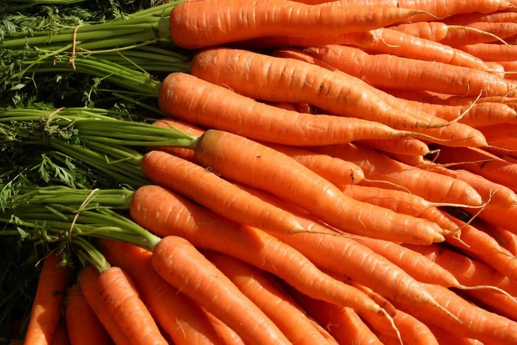 las zanahorias dan nombre a este bello color