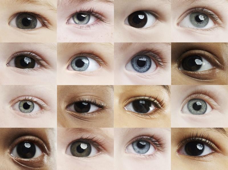 significado del color de ojos