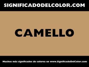 cual es el color camello