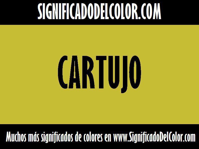 ¿Cual es el color Cartujo?