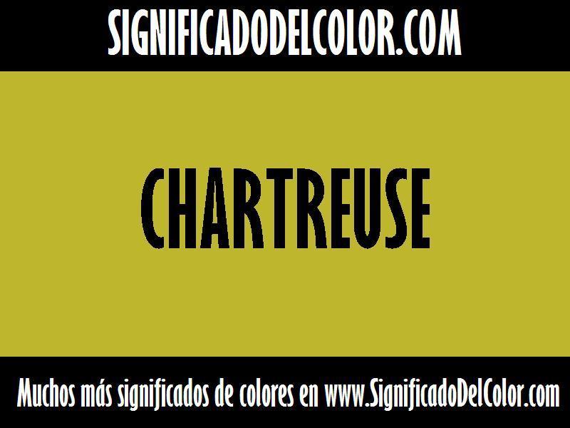 ¿Cual es el color Chartreuse?