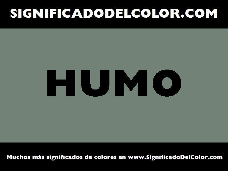 ¿Cual es el color Humo?