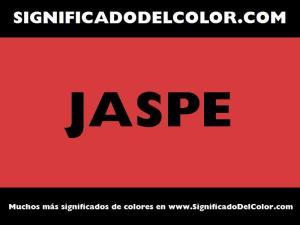 cual es el color jaspe