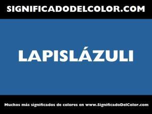 cual es el color lapislazuli
