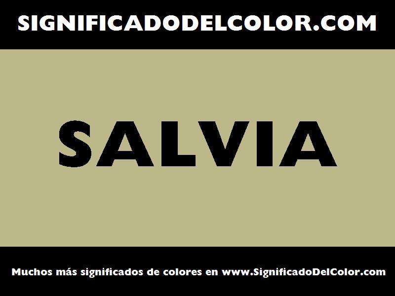 ¿Cual es el color Salvia?