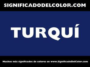 cual es el color turqui