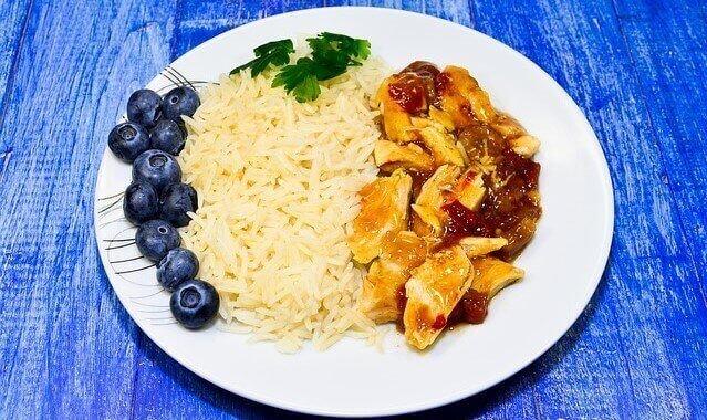 prato de arroz