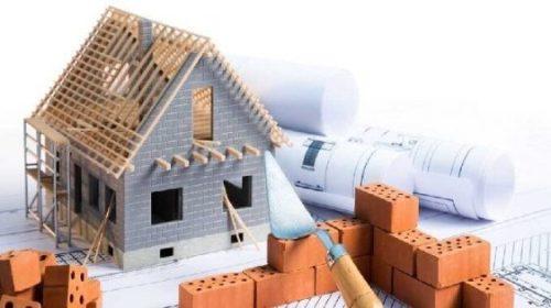 casa sendo construida