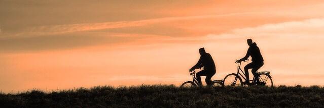 sonhar que corre de bicicleta