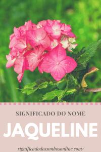 ▷ Significado do nome Jaqueline 【Tudo sobre Jaqueline】