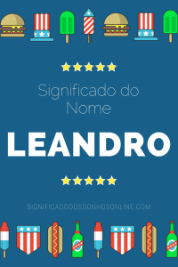 ▷ Significado do nome Leandro 【Tudo sobre Leandro】