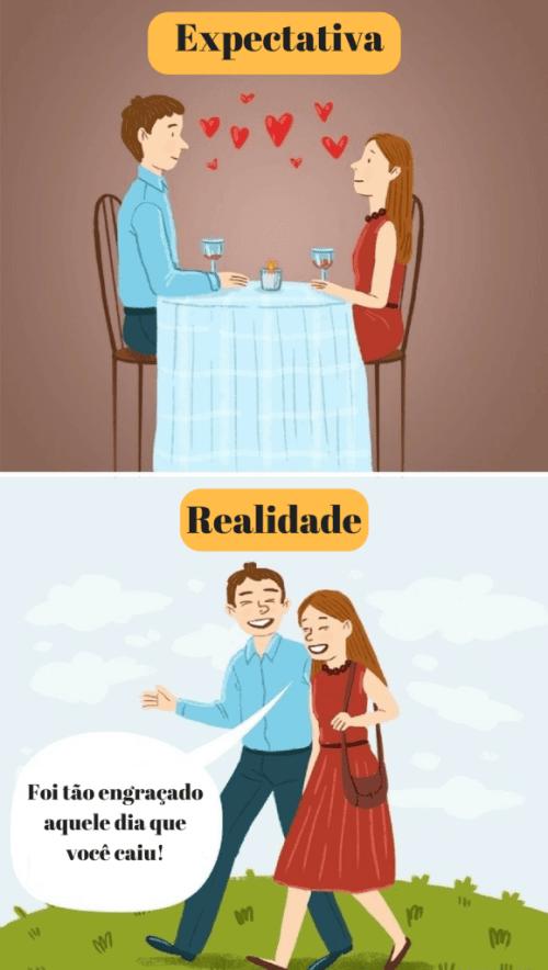 paixão no relacionamento