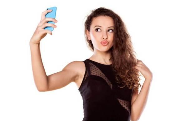 selfie com o namorado