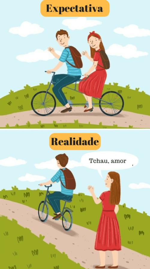 casais felizes nem sempre estão juntos