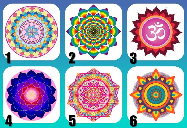 Teste das Mandalas: Escolha a Sua Mandala Favorita e Descubra Seu Significado