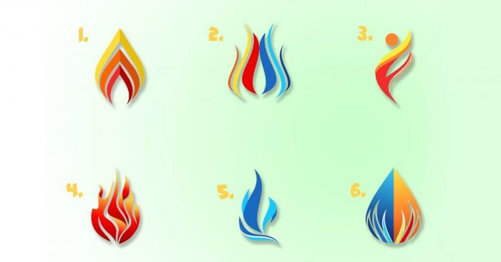 Escolha Uma Chama De Fogo e Descubra Com Que Luz Você Brilha