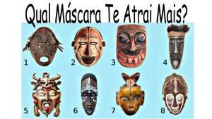 Escolha a Máscara Tribal Que Mais Te Atrai e Leia o Que Ela Diz Sobre Você