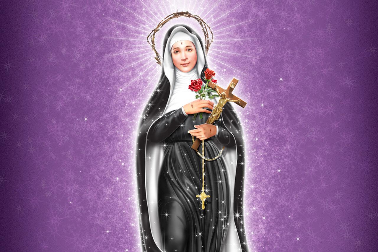 ✞ Oração poderosa para Santa Rita【A santa das causas impossíveis】