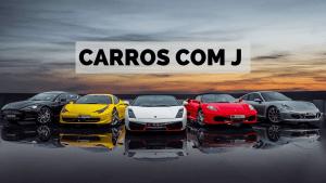 ▷ Carros Com J 【Lista Completa】