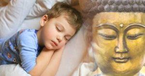 Leia esta história budista para o seu filho para que ele tenha bons sonhos