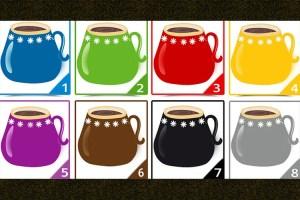 Qual xícara colorida você escolhe? Ela tem algo a dizer sobre você!