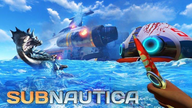 capa Subnautica jogo