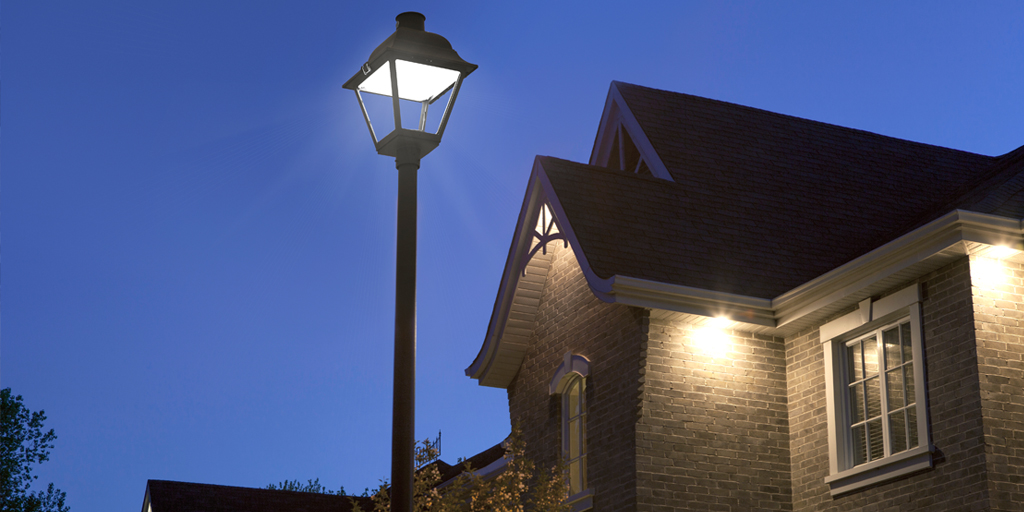hadco townview led post