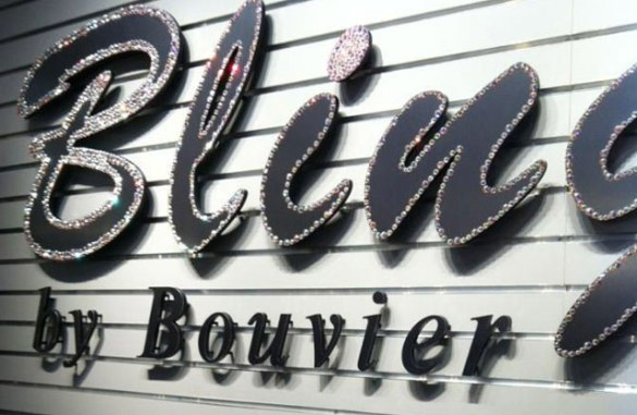 Sign Letters for Business  Professional and Personal use Jeweled metal letters on acrylic