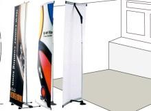 展示会にはバナースタンドが最適なのはなぜ?バナースタンドの用途のご紹介。