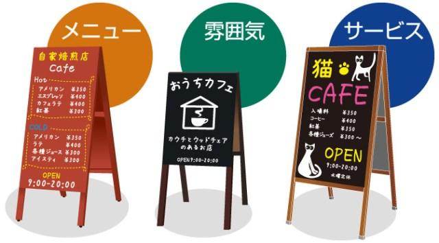 カフェの看板で集客アップを成功させる3つの切り口