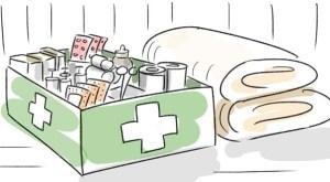 Adeguatamemte rifornito (cassetta di primo soccorso)