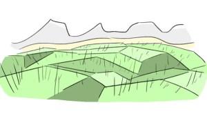 Ojämn yta
