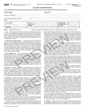 55 Apartment Lease Form Fill Out And Sign Printable Pdf