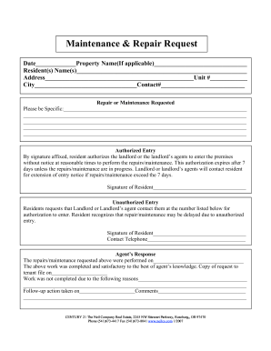 In conclusion, a maintenance request form template enables you to start on your maintenance requests in an organized way. Maintenance Request Form Sample With Answer Fill Out And Sign Printable Pdf Template Signnow